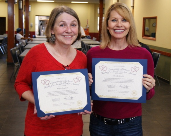 Congratulations to Angele and Rhonda for being recognized by the VA Puget Sound for their work with helping our military veterans!