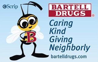 Bartell Drugs B Caring Card photo
