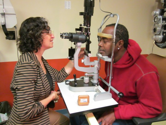 The Eye Clinic serves more than 350 people annually.