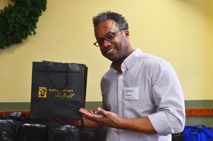 christmas 2013 filmore fosset distributes gifts
