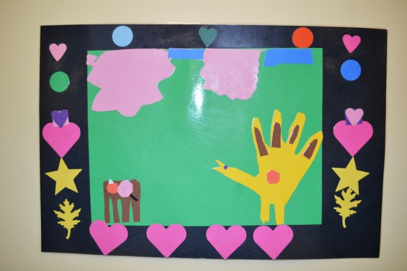 Placemat made by a 1st grade student at Bertschi School.