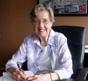 Meet Betty, a long time supporter of the Millionair Club Charity.