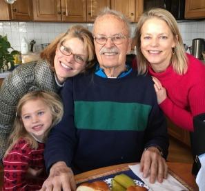 Family Andrews photo grandpa 2 generations