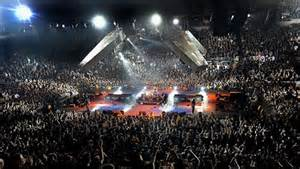 rock music concert
