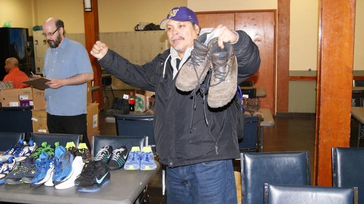 reuben likes new shoes.JPG