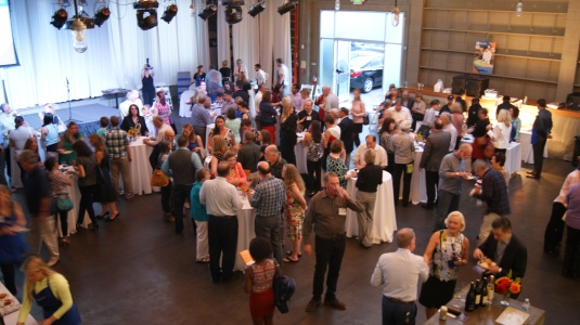 Photo of crowded room at Chef Showcase